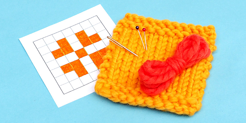 How To Decorate Knits With Cross Stitch 10 Rows A Day