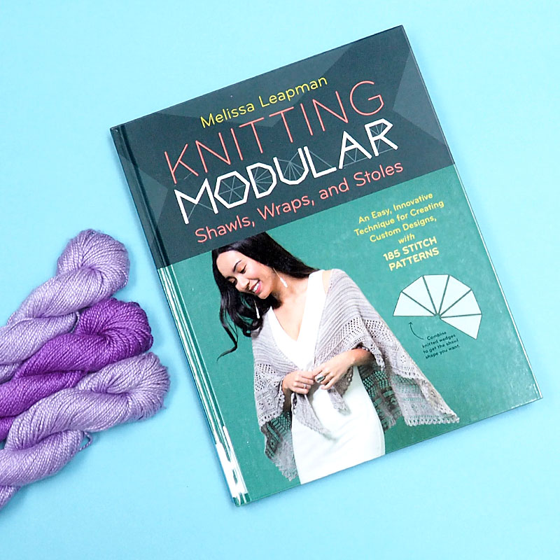 Knitting Modular Shawls, Wraps, and Stoles by Melissa Leapman