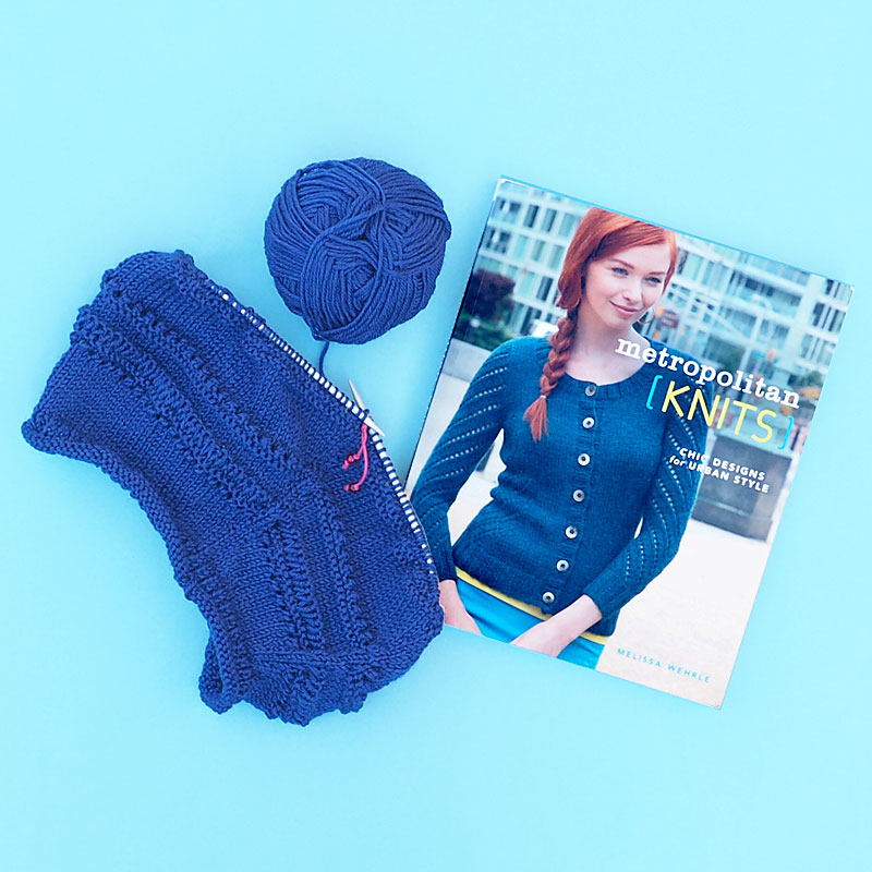 Metropolitan Knits: Chic Designs for Urban Style by Melissa Wehrle