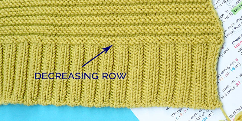 How to Increase or Decrease Stitches Evenly Across a Row