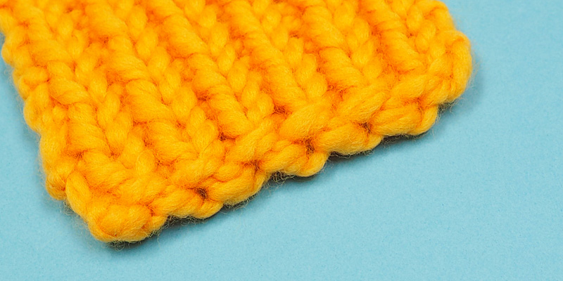 Simple Way to Make an Elastic Cast on Edge